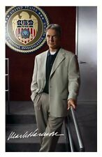 MARK HARMON - NCIS AUTOGRAPHED SIGNED A4 PP POSTER PHOTO