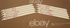 """10-Imperial Reciprocating Sawzall BLADES 12""""L  10/14TPI Twin Cut Made In Germany"""