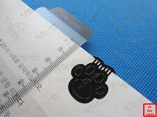 2 PCS Lot/Set !!! RARE Silver Metal Black Paint Cat Lion Animal Paw Bookmarks