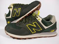 New Balance 574 Men's Size 11 Dark Green Shoes ML574EXB