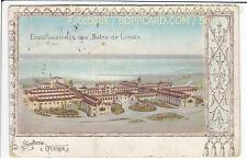 UKRAINE , PRÄGE LITHO , SOUVENIR DE ODESSA , ca1898 / Q