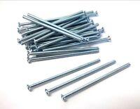 Electrical socket screws. M3.5 x 75mm. Nickel. Pack of 15.. *Top Quality!