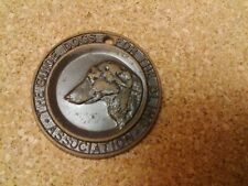 VINTAGE DOG COLLAR TAG BADGE - THE GUIDE DOGS FOR THE BLIND ASSOCIATION