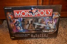 MONOPOLY STAR WARS ORIGINAL TRILOGY EDITION NEW SEALED PLASTIC WRAP MINT COND