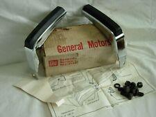 NOS 1973 CHEVROLET MONTE  CARLO REAR BUMPER GUARDS