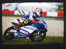 Photo Master Aspar Team Aprilia 125 2002 #22 Pablo Nieto (ESP) Dutch TT Assen