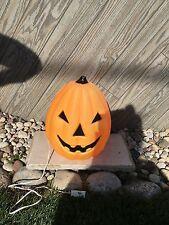"""13"""" Halloween Pumpkin Light-Up Blow Mold ~ Jack-O-Lantern"""