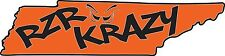 RZR Krazy Special Edition TN Decal, 12 Inch Long