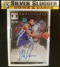 2018-19 Impeccable Marvin Bagley III Rookie Signatures Auto RC 61/99! KINGS!