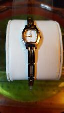 ladies royal london silver dress watch,white dial silver & gold bracelet#BE