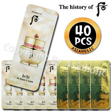 The history of Whoo Bichup Ja Yoon Cream 1ml x 40pcs (40ml) Sample Anti-Aging