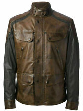 MATCHLESS Brooklands Leather Jacket, Size L ,  RRP £919 Made in Italy