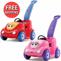 Kids Buggy Toddlers Push Around Car Riding Vehicle Ride-On Indoor Outdoor Toys