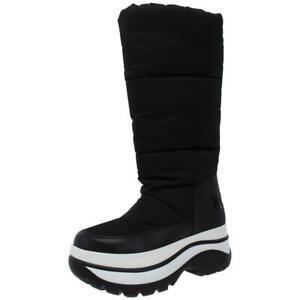 MICHAEL Michael Kors Womens Gamma Black Winter Boots 6.5 Medium (B,M) BHFO 9971