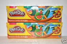 Play-Doh by hasbro 4-Pack classic Colors red yellow green orange NEW