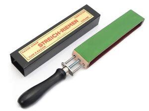 Herold Streichriemen für Rasiermesser Abziehriemen Abziehleder Juchtenleder