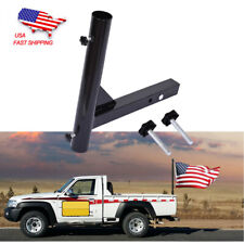 New listing Hitch Mount Flagpole Holder Trailer Receivers Flag Pole Hold Rv Flags Car Camper