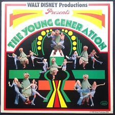 Walt Disney's THE YOUNG GENERATION film songs LP 1974 Alyn Ainsworth Bambi Dumbo
