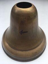 Vintage Spun Brass Ceiling Bell Canopies