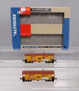 Walthers 932-27624 HO Union Pacific International Car Co. Bay Window Caboose 2pk