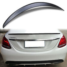 AMG STYLE REAR BOOT TRUNK LIP SPOILER FOR MERCEDES BENZ C CLASS W205 160 180 200