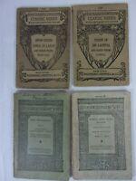 Riverside Literature - Maynard's English Classic Series LOT 4. #s 28 135 129 130