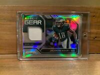 2020 Panini Prizm Jalen Reagor Rookie Gear Patch Jersey Eagles RC