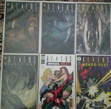 Aliens Earth War Complete #1 2 3 4 & Mondo Heat - Mondo Pest  Dark Horse Comics