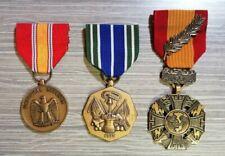 Lot de 3 médailles américaines