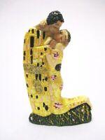 Gustav Klimt Der Kuss Poly Modell 8,5 cm Souvenir Österreich Wien