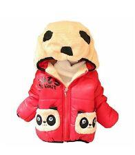 Baby Boys Inverno Panda Animale Felpa Con Cappuccio Cappotto Caldo Neve Wear Giacca Cappotto