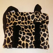 Womens Black and White Spotted Mini Back Pack Small