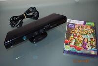 Xbox 360 Kinect Sensor With Kinect Adventures **FREE UK POSTAGE**