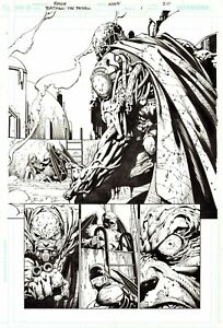 DAVID FINCH 2010 BATMAN, ROBIN, TRAKTIR ORIGINAL ART!  FREE SHIPPING!