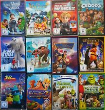 Dvd Sammlung Kinderfilme Familienfilme Komödien Animation 12 Stück