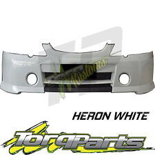 FRONT BAR COVER HERON WHITE SUIT SUIT VY COMMODORE HOLDEN SS 02-04 S BUMPER