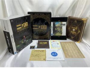 Ni no Kuni Shikkoku no Madoushi Nintendo DS Limited Edition Works Japan DS