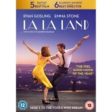 La La Land 2016 Emma Stone Ryan Gosling R2 DVD