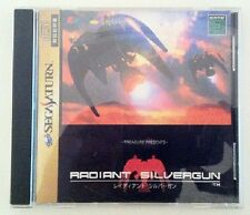 Sega Saturn Radiant Silvergun Japan SS