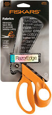"Fiskars 9"" RazorEdge Premium Tabletop Fabric Shears 199600-1001"