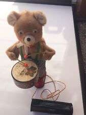 Barney Drummer Vintage Antique Bear