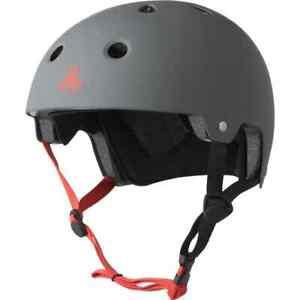 Triple Eight Helmet Dual Certified L/XL Skateboard Scooter Bike 59-61cm UK Ship