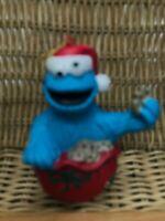 Sesame Street Cookie Monster Christmas Ornament Jim Henson Productions Vintage
