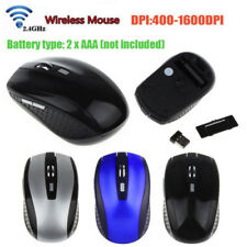 d8f0ee90453 2.4GHz Wireless Cordless Mouse Mice Optical Scroll For PC Laptop  Computer+USB