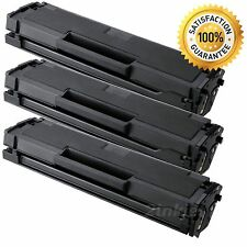 3Pk MLT-D101S MLTD101S Toner Cartridge For Samsung 101S ML2165W SCX 3405W SF760P