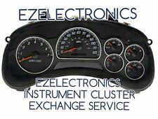 2002 2005 GMC ENVOY INSTRUMENT CLUSTER EXCHANGE 6 Gauge With DIC