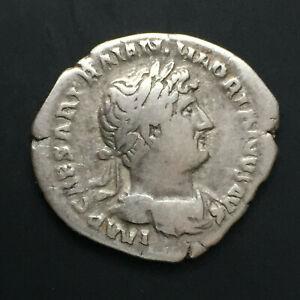 Hadrian AR Denarius - CONCORD 3.20g