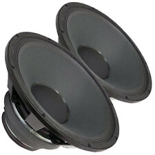 """Pair Radian 5215B 2-Way Coaxial Speaker 15"""" 8 ohm LF/HF Replacement"""