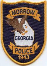 MORROW GEORGIA GA POLICE PATCH