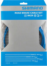 SHIMANO ROAD PTFE ROAD BIKE BICYCLE BLUE BRAKE CABLE KIT W/ HOUSING